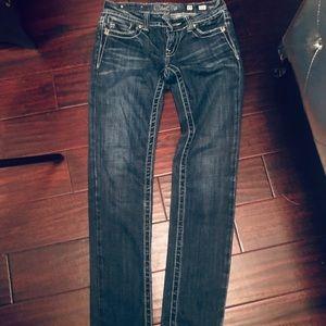 Miss Me strait leg jeans